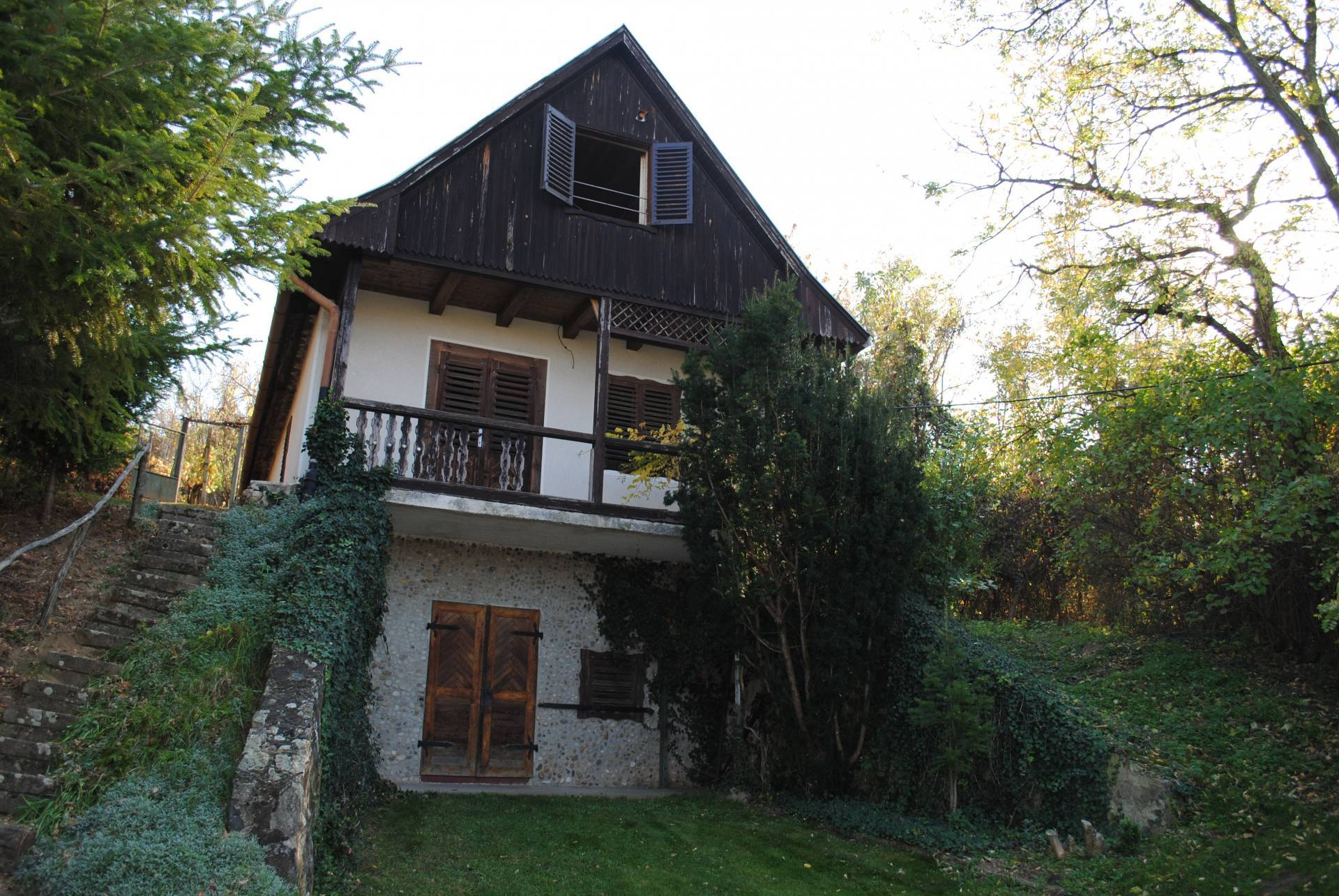 Viničný dom so záhradou a vinicou