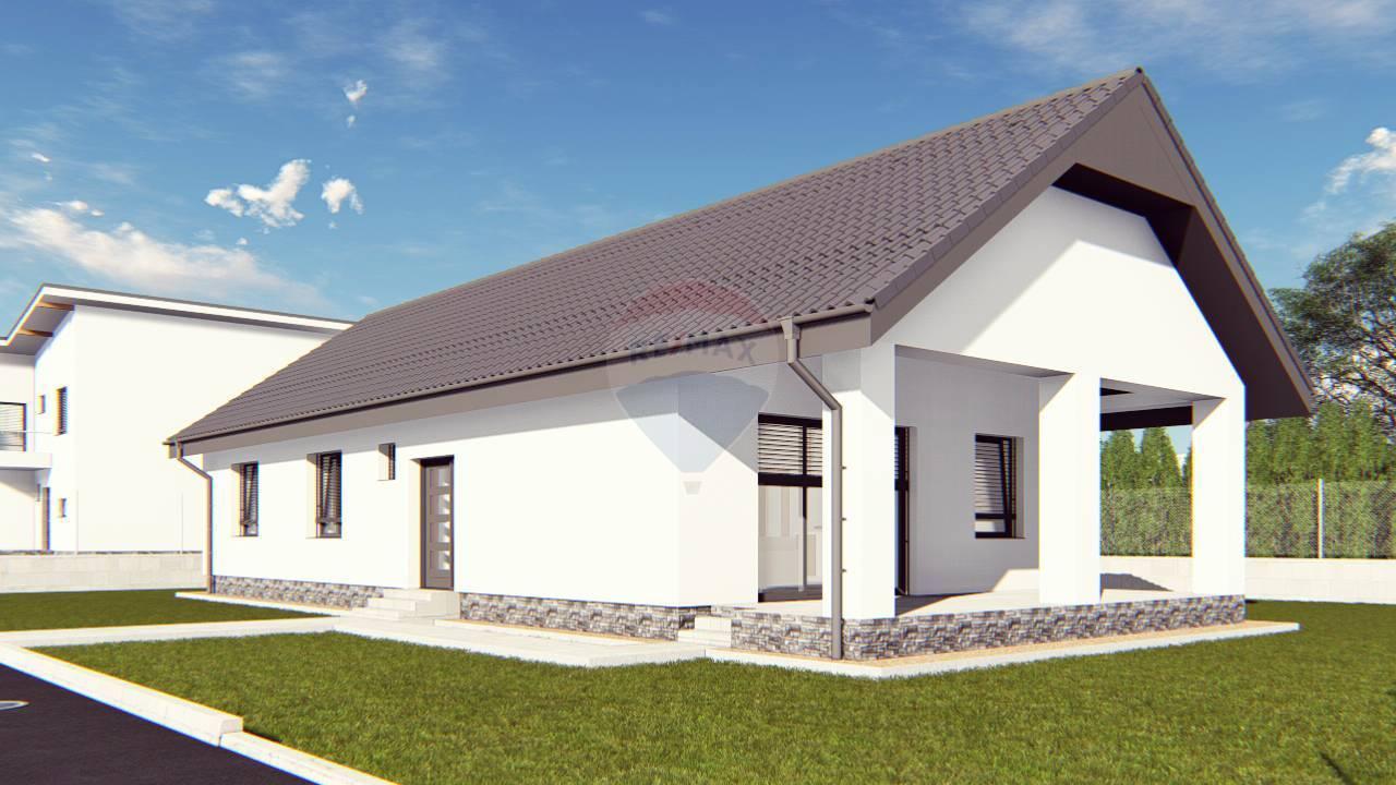 Predaj novostavby MODERNÝ rodinný dom s upraveným terénom a vysadením trávnikom