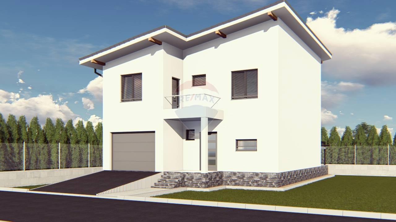 Predaj modernej NOVOSTAVBY. S dokončenou fasádou, upraveným terénom, plotmi  a vysadeným trávnikom