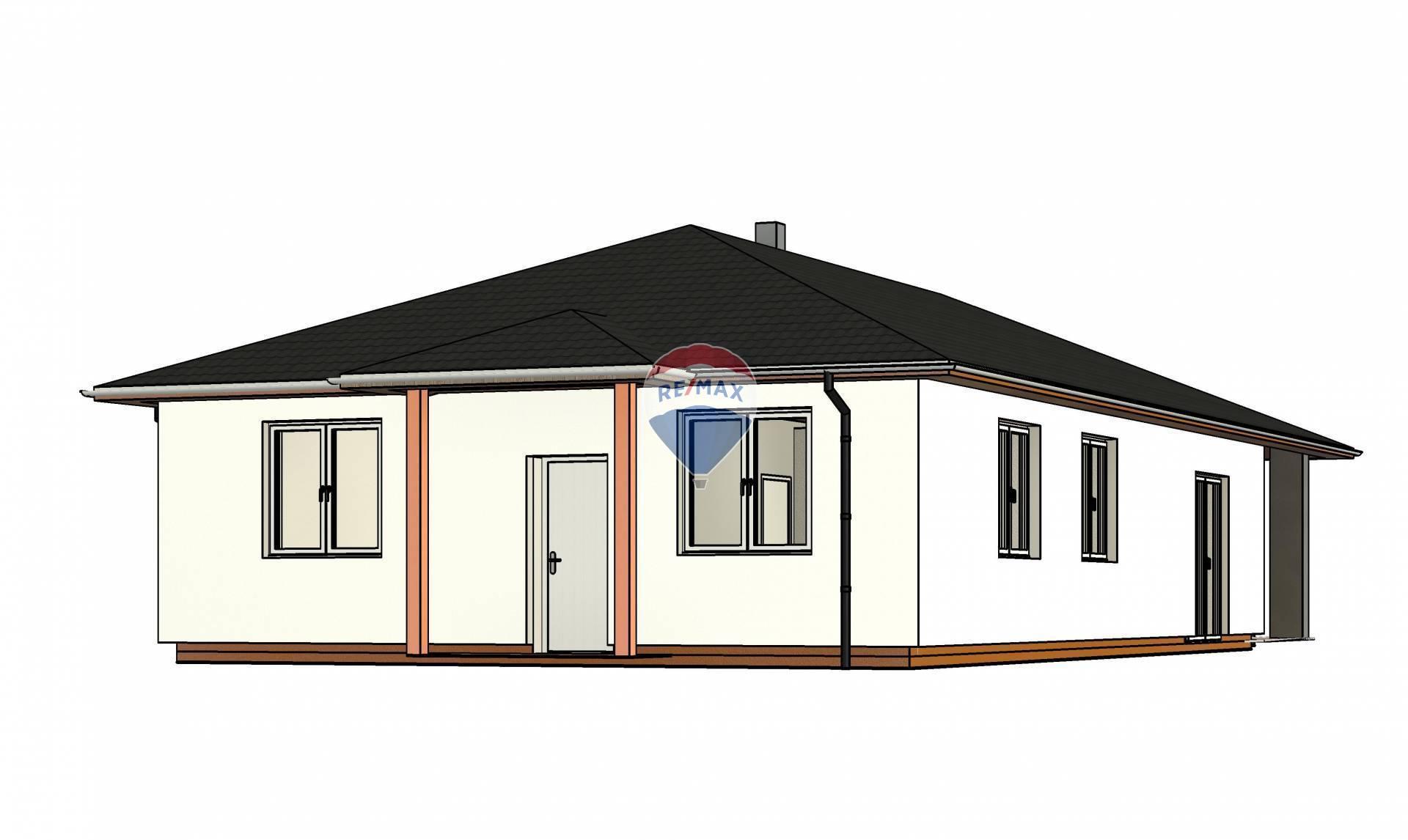 Novostavba 4 izbový rodinný dom - holodom Košice okolie  ZNÍŹENÁ CENA !!!!